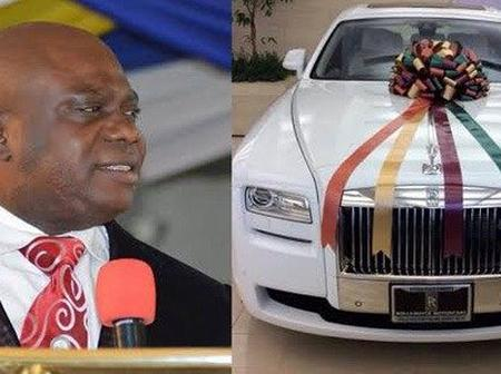 Meet 6 Nigerian Pastors Who Were Given Rolls-Royce As Birthday Gifts
