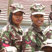 Meet Kenyan Pure Female SWAT Squad