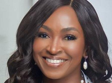 Kate Henshaw Shows Off Her Flat Tummy As She Exercises This Morning