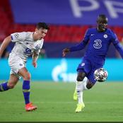 UEFA reacts to N'golo Kante's classic performance for Chelsea against FC Porto in the UCL