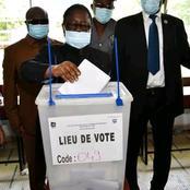 Législative  2021 : le président Bédié vient de voter et invite ses militants à suivre son exemple