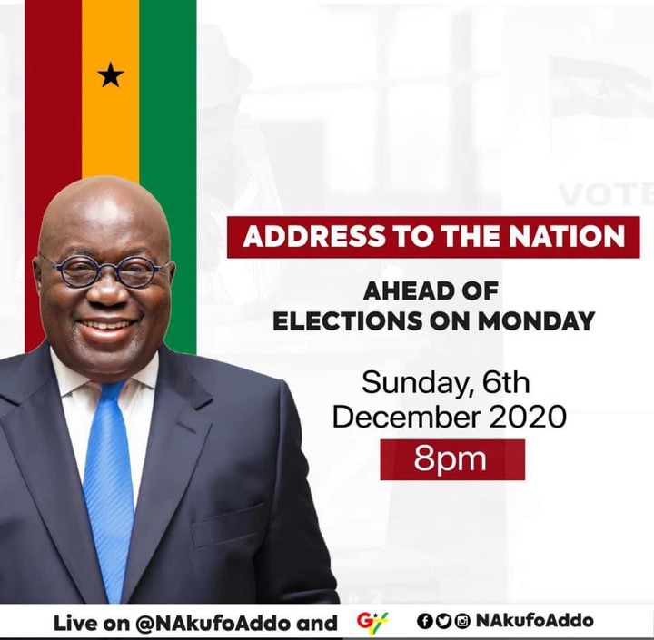 """d515f13058bbde37ad5900e8ac6f8cc6?quality=uhq&resize=720 - """"We can't never be ungrateful"""": Ghanaians React To President Akufo-Addo's Nation Address Positively"""