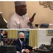 Less Than 24 Hours into Joe Biden Presidency, See The 2 Requests Atiku Abubakar Made for Nigeria