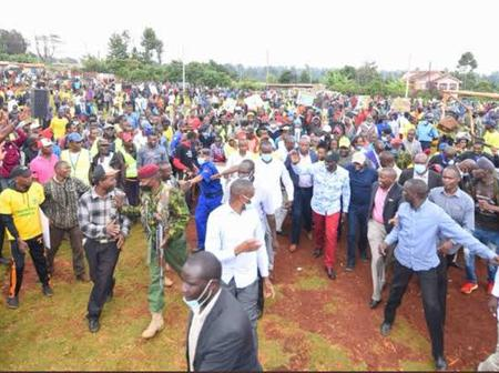 Is the Ground Changing for Deputy President Ruto? Are youth Going Against him?