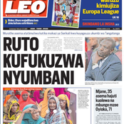 Raila Goes It Alone, Ruto To Be Evicted, Uhuru's Coalition Of Chaos In Newspapers Today.