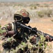 Making A Call To His Wife Lined This KDF Soldier To A Sniper Bullet