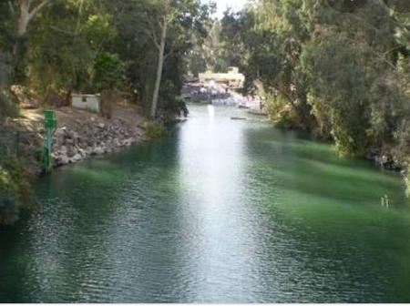 Do you still remember River Jordan in the Bible? Take a look at some parts of the ancient river