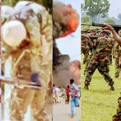 Nigerian Army Buries Commanding Officer And 4 Soldiers
