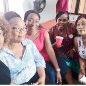 Halima Abubakar, Kehinde Bankole, others, celebrate popular actress' mum who became a year older