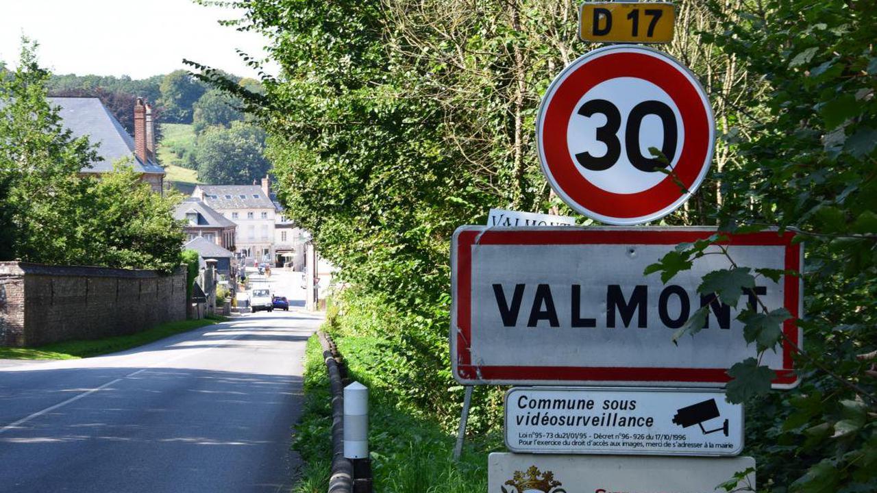 Près de Fécamp, le village entier de Valmont limité à 30 km/h