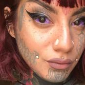A Model 'Went Blind' After Getting Her Eyeballs Tattooed.
