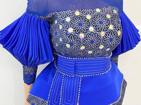 It Is A New Month, Try Out These Latest Ankara Blouses For Every Lady To Rock On Easter Sunday.