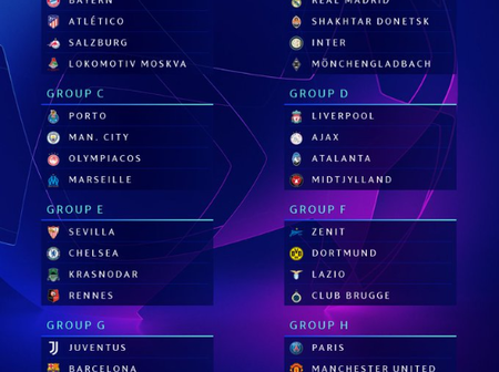 UCL Draw: Messi And Ronaldo To Play Against Each other, Here is the Official Complete Draw