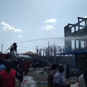 Market Women Cry Out As They Watch Their Items Being Destroyed In Central Market