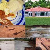 A Limpopo Woman Shows The Type Of Food She Eats While Saving And Building Her house