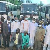 Remise de clés aux transporteurs. Le Ministre Touré dénonce et condamne la destruction des véhicules