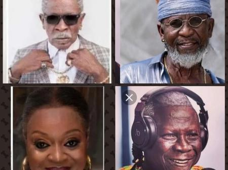 How Ghanaian Celebrities Would Look Like In Their Old Age, Check Out Some Photos Of Them