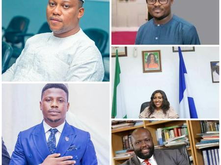 Meet The Five Youngest Commissioners In Nigeria