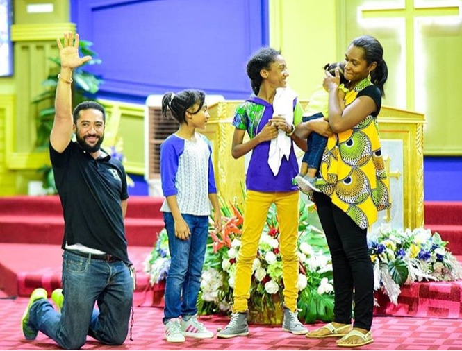 d5a2f67b66d14f5062eebfe17a9c91c7?quality=uhq&resize=720 - Meet The Lovely Wife And Adorable children Of Ghanaian Actor, Majid Michel - Photos