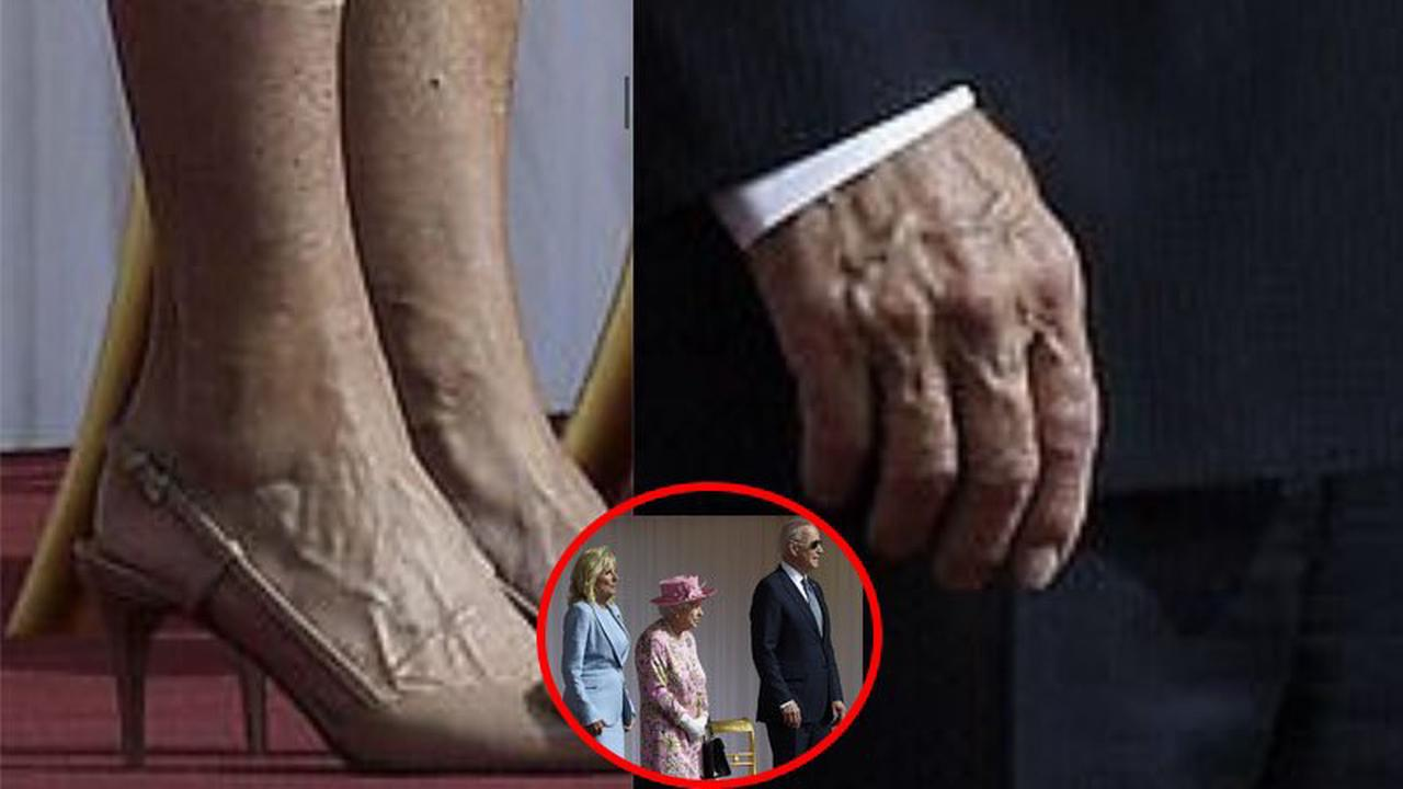 Why Americans Are Anxious Over A Picture of Jill and Joe With Queen Elizabeth II?