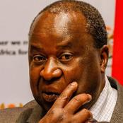 Tito Mboweni shared a picture that could get him into trouble here is why