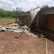 Prikro : des toitures de plusieurs écoles emportées par une tornade