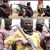 Terrorism: See New Pictures Of Boko Haram As They Recruit And Train Young Children