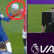 Opinion: VAR Commits Blunder As It Fails To Award Man United A Penalty After Hudson Odoi's Handball