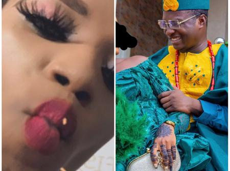 After lady accused newly married man of asking her out on Twitter, see what the married man told her