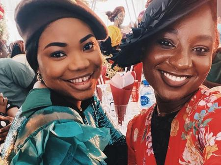 Checkout what Deborah Eneche, Said After Meeting Mercy Chinwo At A Wedding Ceremony Recently