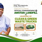 Governor Makinde Commissions First Landfill in Oyo State