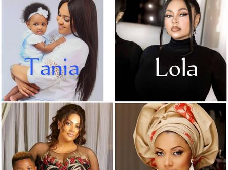 Who is more beautiful between Tania and Lola Omotayo? See lovely photos of them