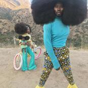 Meet The Black Man Who Won Guinness World Record Due To His Natural Hair.
