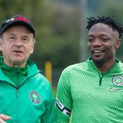 Injury boost for Super Eagles coach Rohr as first-choice star set to resume training this week