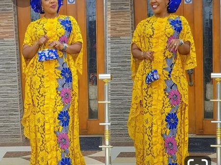 Beautiful and Attractive Boubou Gown Styles for Married Ladies