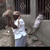 Drama As Two Children Brutally Beat Up Their Mother Leaving Her Unconscious In Kayole