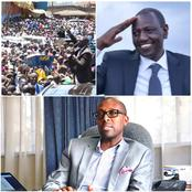AMREF CEO Dr Githinji Reacts to DP Ruto's Huge Rally in Murang'an Amid Increasing COVID-19 Infections