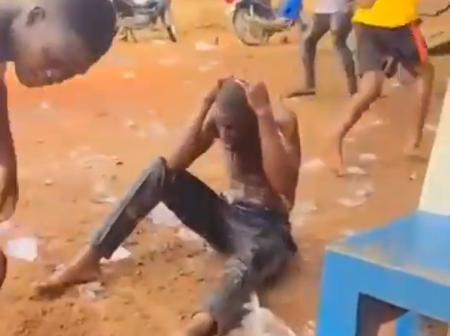 Video: See what a friend did for a man while he was celebrating his birthday