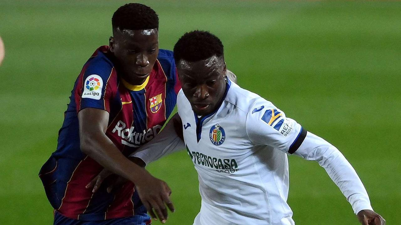 Lionel Messi delight for Getafe's young Ghanaian midfielder Sabit | Goal.com