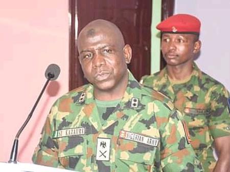General Kazaure: Meet The DVC Military of Nigerian Army University