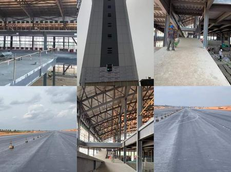 Anambra state International Airport Is About To Be Completed, Check Out Pictures