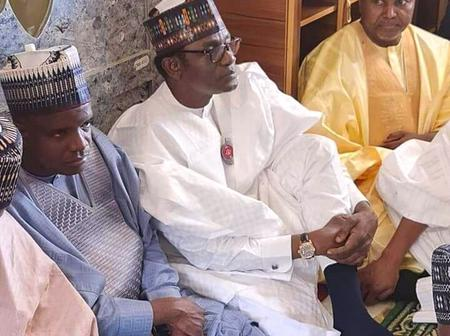 APC Acting Chairman And Some Top Politicians Attended The Wedding Ceremony Of Daurawa's Son (Photos)