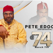 Pete Edochie Is 74 Years Old Today.  Check Out Beautiful Photos Of Him, Family and Other Actors.