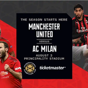 Huge Boost To Manchester United For First Leg Clash With AC Milan As Star Player Is Ruled Out