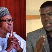 Reno Omokri Reacts As President Buhari Arrived Nigeria from London
