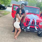 He Bought His Girlfriend A Jeep And A Cake On Her Birthday, Read The Message She Sent To Him Later