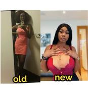 Check Out The Old And New Pictures Of This Lady That Shows How She Has Transformed Over The Years