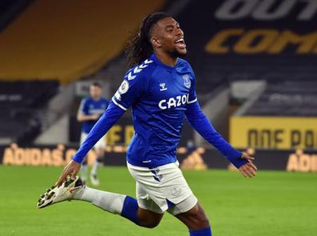 EPL: Iwobi On Target In Everton's Win At Wolves