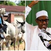 After Buhari Gave Order To Shoot Anyone That Carries AK-47, See What Was Caught With These Herdsmen.