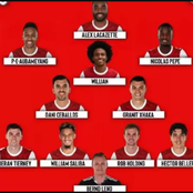 How Arsenal Could Lineup In Today's UEFA Europa League Match